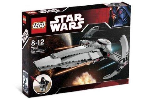 LEGO (レゴ) Star Wars (スターウォーズ) 7663 Sith Infiltrator ブロック おもちゃ