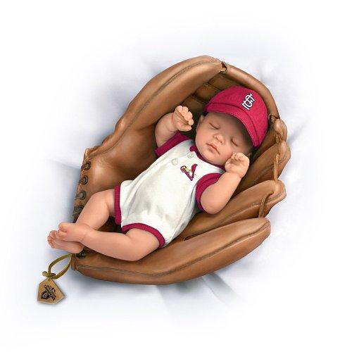 Cheryl Hill MLB St. Louis Cardinals 2011 World Champions Lifelike Baby Doll: Born A Cardinals Fan