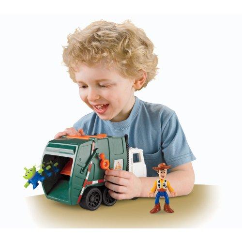 ビッグ割引 トイストーリー3/ ゴミ収集車! スペースエイリアンが飛び出す ゴミ収集車!! エイリアンとウッディー付き/!, ツルミク:09dee351 --- fabricadecultura.org.br
