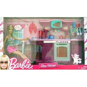Barbie Glam Kitchen Play Set