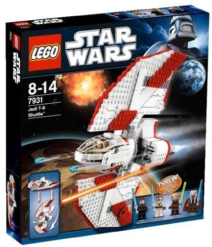 ・LEGO レゴ 7931 SW スターウォーズ T-6 ジェダイ シャトル Star Wars T-6 Jedi Shuttle