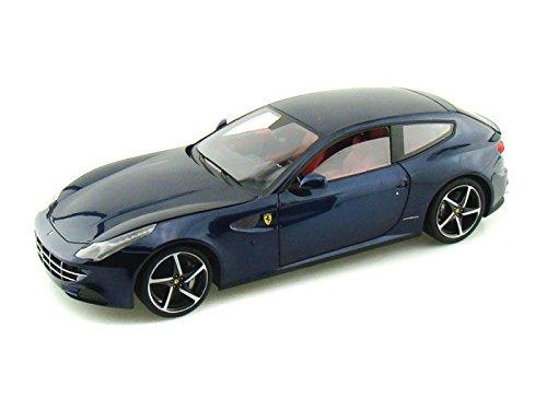 ダイキャストカー 2011 フェラーリ FF GT V12 エリートエディション ブルー 1/18