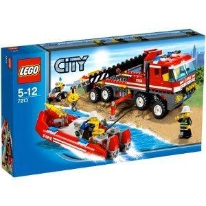 LEGO Off-Road Fire Truck&Fireboat/レゴ シティ オフロード消防自動車と消防艇 7213