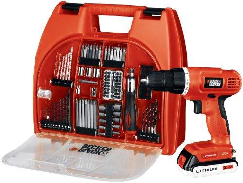 素敵な 日曜大工にも、職人道具にもOK ・ブラック&デッカー コードレスドリル・インパクト(120V)、100種の, ピュアスマイル:5590e000 --- fabricadecultura.org.br