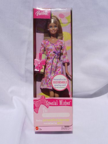 Barbie バービー Special Wishes Recordable Doll (2003) 人形 ドール