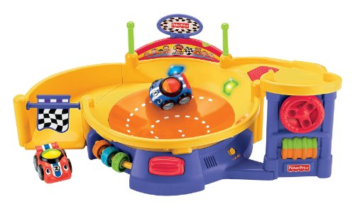 Fisher-Price(フィッシャープライス) Lil' Zoomers Spinnin' Sounds Speedway