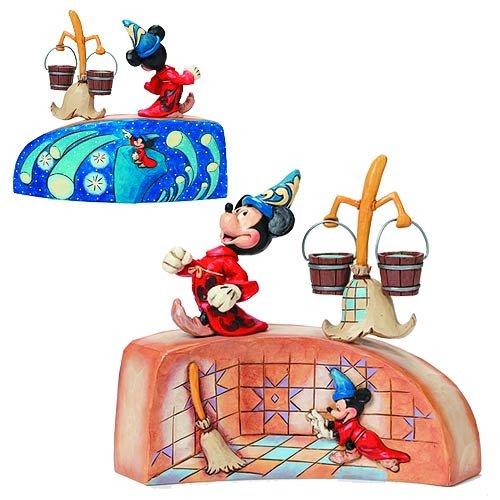 Disney Traditions Fantasia 75th Anniversary Resin Statue ファンタジア75周年 ディズニー ミッキー