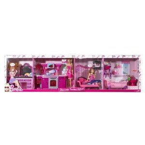 Barbie バービー Glamtastic Furniture Giftset EXCLUSIVE