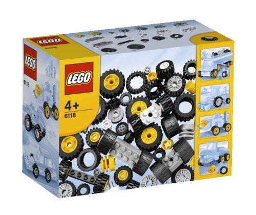 レゴ 基本セット ブロック タイヤセット 6118