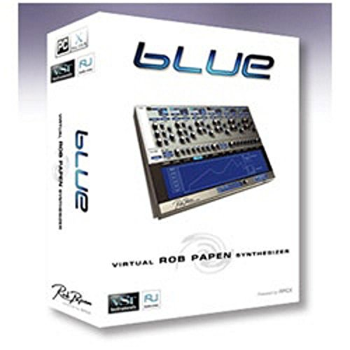 Rob Papen bLUE 1.8 synthsizer 音源MODULE ソフト