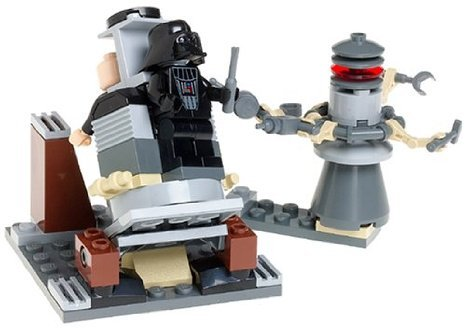 LEGO (レゴ) Star Wars (スターウォーズ) : Darth Vader (ダースベイダー) Transformation Set (7251) ブ
