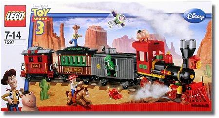 レゴ トイ・ストーリー ウェスタン・トレインの追跡 LEGO 7597