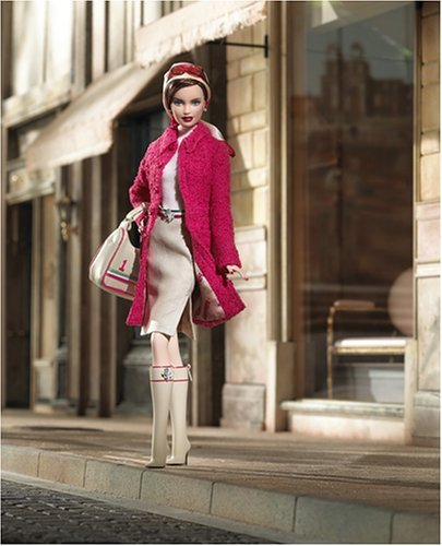 Ferrari Fashion Barbie バービー Doll - Gold Label - 2006 Mattel 人形 ドール