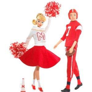 Barbie and Ken - バービーとケン フットボール選手とチアリーダー ギフトセット(コレクターアイテム