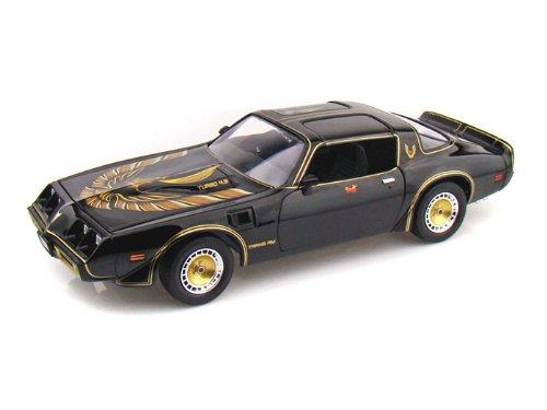 ダイキャストカー 1980 ポンティアック Firebird Trans Am Turbo 4.9L The Bandit II 1/18