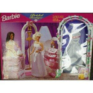 Barbie Bridal Boutique Store Set with Wedding Dress play set