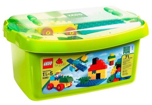 レゴ デュプロ Lego 5380 Large Brick Box - 青 Plate Version