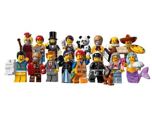 レゴ ミニフィギュアシリーズ 12 レゴ ムービー 71004 - 16体セット