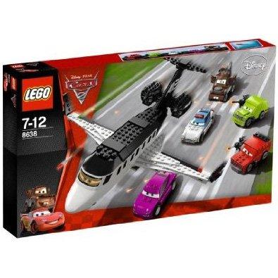 LEGO Cars (レゴブロック:カーズ) スパイジェットを追え