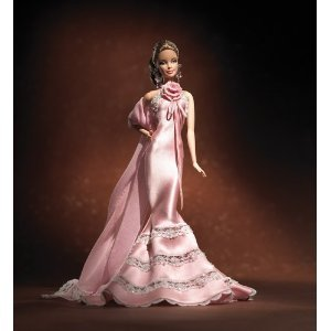 BARBIE DESIGNER COLLECTON GOLD LABEL - Badgley Mischka BARBIE DOLL
