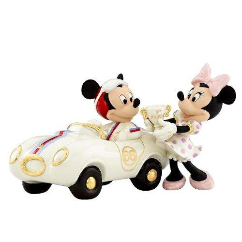 レノックス社製 白磁フィギュア 『ウィナーズ サークル ウィズ ミッキー』 (ミッキーマウス) ディズ