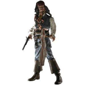 ネカ パイレーツオブカリビアン ジャックスパロウフィギュア Pirates of the Caribbean Cannibal Jack