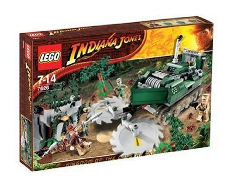 Lego (レゴ) - 7626 - IndianaJones - Jeux de construction - Le dAcbroussailleur de la jungle ブロッ