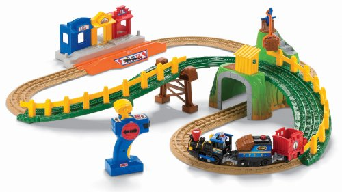 Fisher-Price(フィッシャープライス) GeoTrax Transportation System Remote Control Timbertown Railway