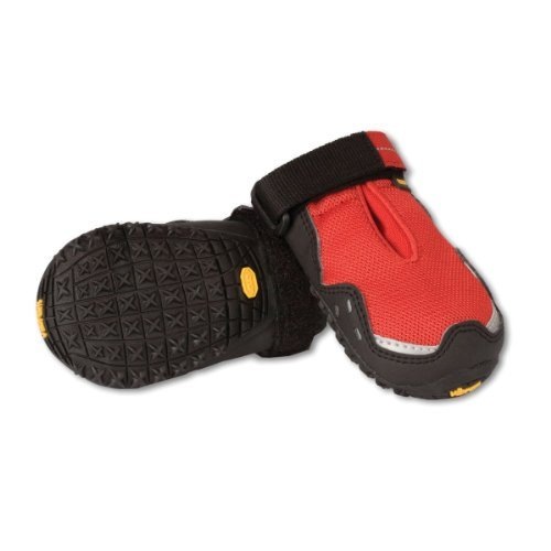 Ruffwear Grip Trex Boots for Dogs 3.0-Inch Red Currant