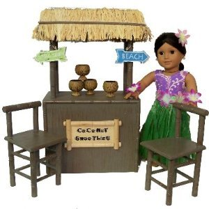 Shaved Ice Coconut Smoothie Stand for 18 inch Doll ドールs like American Girl