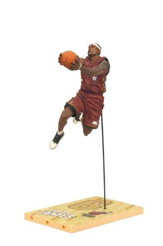 マクファーレン NBA シリーズ19 【レブロン ジェームズ】(ヒート/レッド) / LeBron James