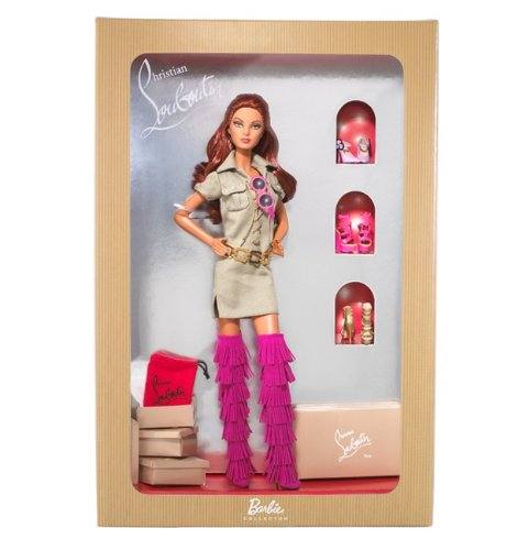 クリスチャン・ルブタンがコラボレーション限定バービBarbie Christian Louboutin Safari Doll