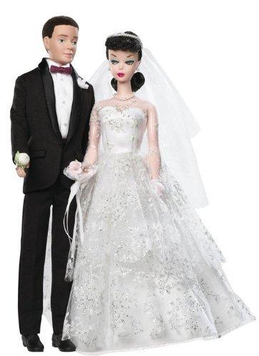 Barbie バービー Collector 50th Anniversary Dolls - Wedding Day Barbie バービー and Ken Giftset 人