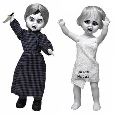Living Dead Dolls リビング・デッド・ドールズ サイコ2種セット/Living Dead Dolls PSYCO Norman&Marion