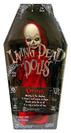 Mezco Toyz Living Dead Dolls Series 15 Death (Variant with Talking Board Piece) 人形 ドール