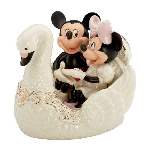 レノックス Lenox Mickey Romance Under Stars Swan ディズニー ミッキー