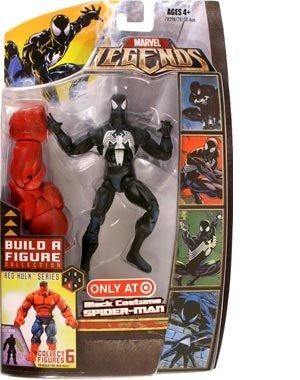 マーベル レジェンド Marvel Legends 6インチ [Red Hulk] スパイダーマン [ブラック コス]