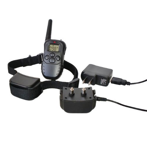 Mdog2 300-Meters Petrainer 2 Dog Rechargeable and Waterproof Remote Training Collar