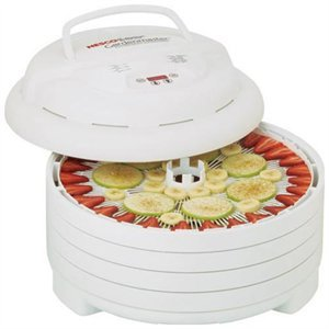 Nesco American Harvest FD-1040 Gardenmaster Digital-1000W-4 Tray with accessories - Whit