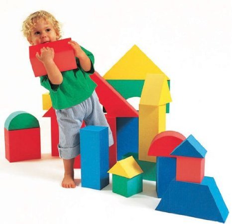Edushape Giant Blocks - Box ブロック おもちゃ
