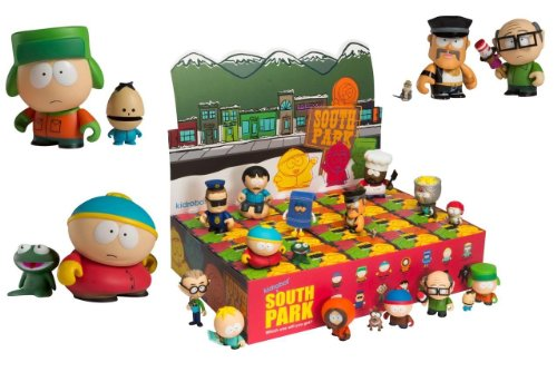 South Park Collectible Mini Figure Series 1 Blind Box Case Of 20 フィギュア 人形 おもちゃ