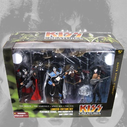 KISS CREATURES SPECIAL BOXED SET EDITION アクションフィギュア