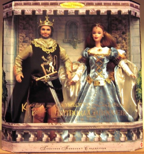Ken and Barbie バービー Doll As Camelot's King & Queen, Arthur and Guinevere 人形 ドール