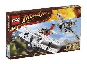 Lego (レゴ) Indiana Jones (インディジョーンズ) 7198 Fighter Plane Attack ブロック おもちゃ