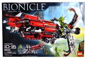 Lego (レゴ) Year 2008 Bionicle Series 自動車 車 with フィギュア 人形 Set # 8943 - AXALARA T9 the U