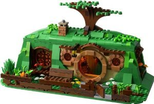 LEGO (レゴ) The Hobbit Set 79003 No フィギュア 人形 An Unexpected Gathering Bilbo's House ONLY ブ