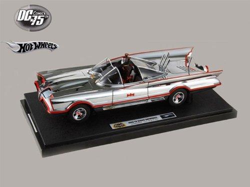 ダイキャストカー エディション クローム 1966 バットマン バットマン バットモービル クローム エディション 3000台限定 1/18, あたり前田のクラッカー:3dca4648 --- gpravelli.com.br