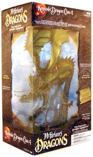マクファーレントイズ ドラゴン シリーズ4/コモド・ドラゴン DX BOX/Mcfarlane Dragon