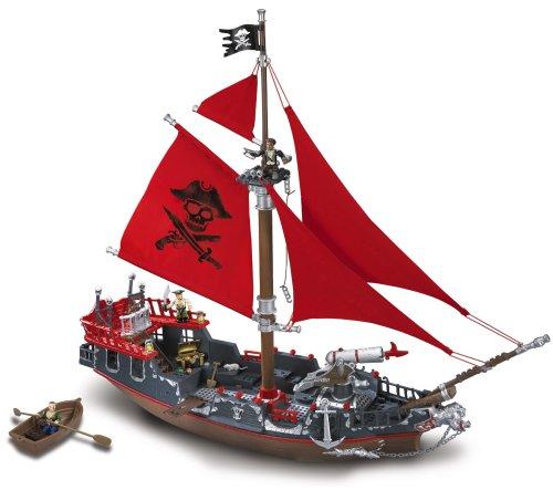 本格的な海賊船・Deluxe メガブランドプレイセット  Mega Bloks社