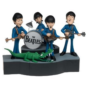 McFarlane Toys ロック 'n ロール Deluxe Action フィギュア Boxed セット Beatles Cartoon